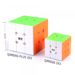 Qiyi Qimeng 9cm 3x3 Plus  Stickerless