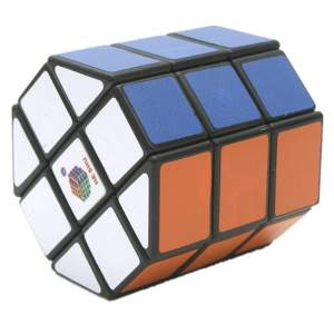 HeShu Barrel Cube Black 3x3