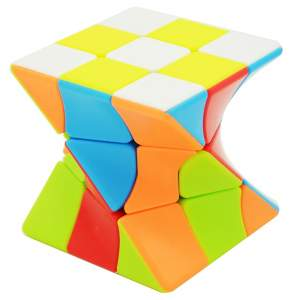 Lefun 3x3x3 Twisty Magic Cube Stickerless