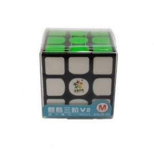 YuXin Kylin V2 Magnetic  3x3x3 Black