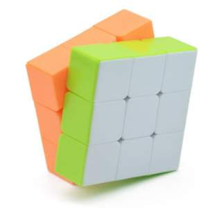 LeFun 3x3x2 Domino Stickerless