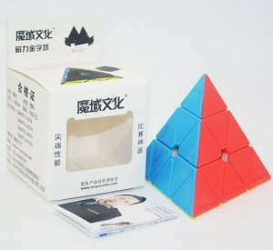 Moyu Magnetic Pyraminx stickerless