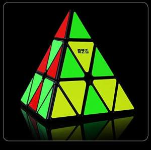 QiYi MS Pyraminx Magnetic Black