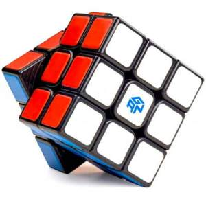 GAN RUBIK SPEED CUBE Black LOGO