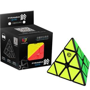 X-Man Bell Magnetic Pyraminx Black