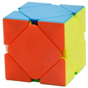 YuXin Black Kylin Skewb Cube Stickerless