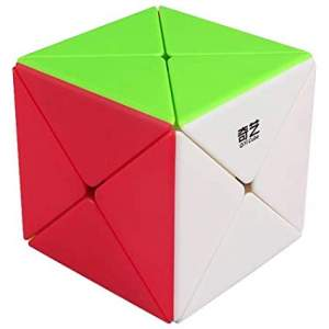 QiYi X Dino Skewb Magic Cube Stickerless