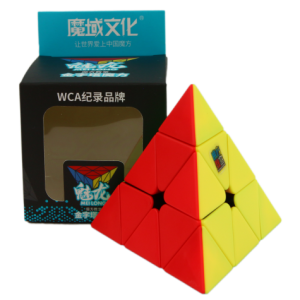 Mofang Jiaoshi Meilong Pyraminx Stickerless