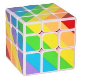 YongJun Unequal 3x3x3 Cube White