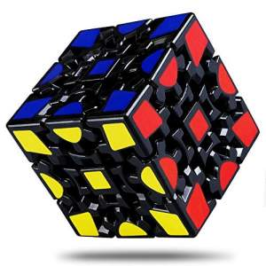 Lefun 3x3 v1 Gear Cube Black