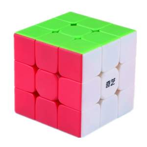 QiYi Warrior S stickerless 3x3